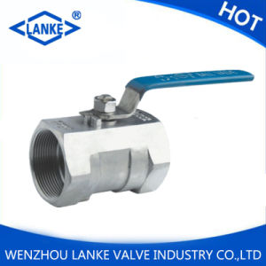 One Piece Ball Valve with NPT/Bsp/G Thread