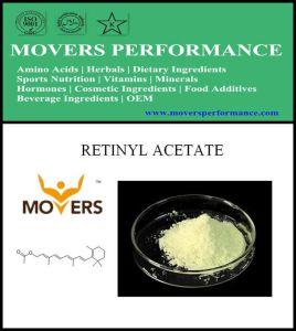Hot Slaes Cosmetic Ingredient: Retinyl Acetate pictures & photos