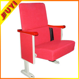 Jy-302s Dimensions Outdoor Stackable Concert Chair with Armrest Cinema Hall Chair Wooden High Chair pictures & photos
