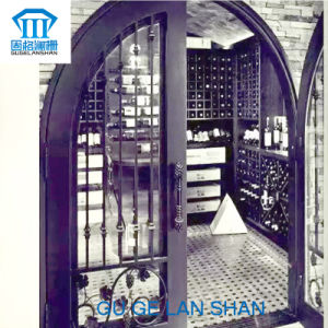 Rust-Proof/Antiseptic/High Quality Crafted Wrought Iron Door pictures & photos