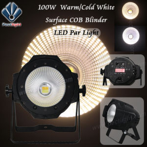 Surface Warm/Cold White 100W Stage/Theater LED PAR Light pictures & photos