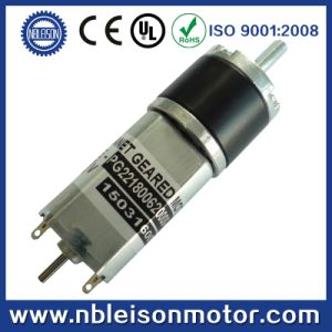 22mm Planetary Gear 24V 12V DC Motor with Dual Shaft for Encoder pictures & photos