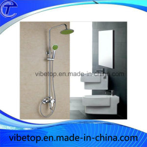 Stainless Steel Rainfall Head Shower Set by China Manufacturer pictures & photos