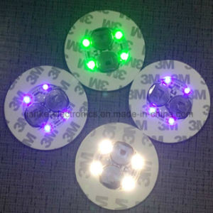 Promotional Beer Bottle LED Sticker Light with Logo Printed (4040) pictures & photos