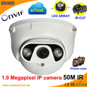 1.0 Megapixel IR Dome IP CCTV Cameras Suppliers pictures & photos