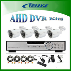 4CH CCTV Ahd DVR Kits HD Camera System, (BE-8604MLS44RN)