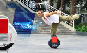 One Wheel Self Balancing Electric Unicycle Scooter pictures & photos