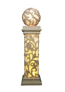 Sandstone Carving Cylindricity Garden Statue Lantern pictures & photos