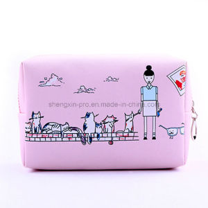 PU Cosmetic Bag with Custom Logo pictures & photos