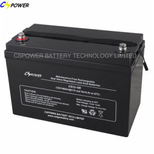Deep Cycle Gel Battery Solar Power Battery 12V 100ah pictures & photos