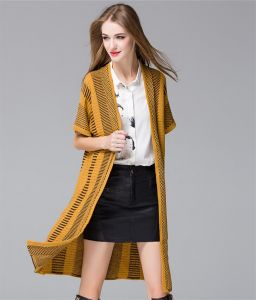 C1196 Jacquard Weave Knitted Shawl for Ladies Brand Custom pictures & photos