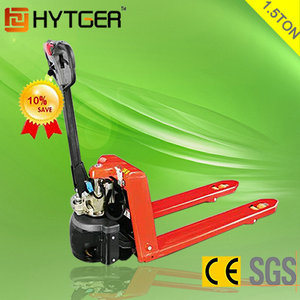 1300kg Electric Pallet Truck Semi Electric Pallet Jack Price (EPT20-13EHJ) pictures & photos