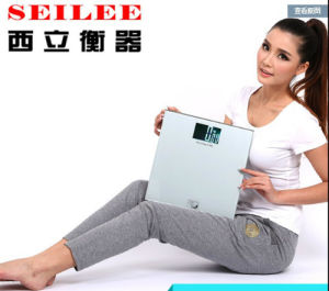 Big LCD 88X55mm Screen Slim Digital Personal Scale pictures & photos