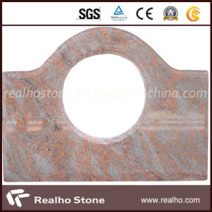 Natural Polished Multicolor Red Granite Stone Kitchen Countertop pictures & photos