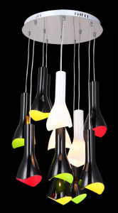 Modern Colourful Glass Dining Room Pendant Light (KAMD4020R-12) pictures & photos