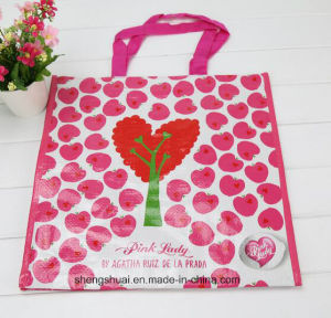 Pink Color Eco Non Woven Fabric Bag for Shopping and Promotion