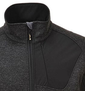 Men′s Knitted Softshell Workwear Polyester Jacket pictures & photos