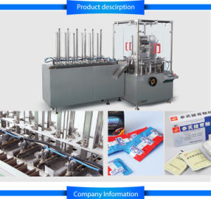 Jdz-120d Automatic Sachet Cartoning Machine