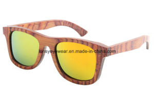 Wholesale Polarized Wood Sunglasses (LS2003-C12)