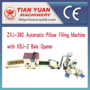Automatic Pillow Filling Machine with CE Certification Approved (ZXJ-380+HFM-2000) pictures & photos