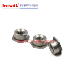Carbon/Stainless Steel Hex Self Lock/Locking Nut, Self Clinching Flush Nut pictures & photos