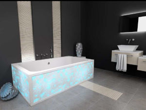 Sanitary Ware Solid Surface Stone Bathtub pictures & photos