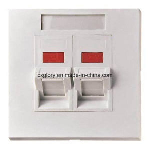 AMP Type Face Plate 45 Degree Angled pictures & photos