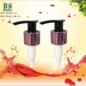 28/410 Golden Aluminum Soap Dispenser Lotion Pump pictures & photos