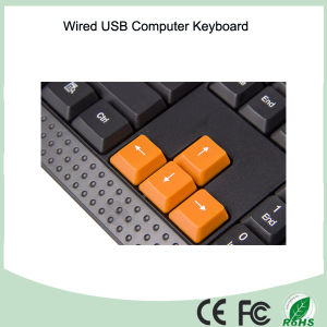 China Factory Buttom Price Cool Design Normal Wired Keyboard (KB-1688) pictures & photos
