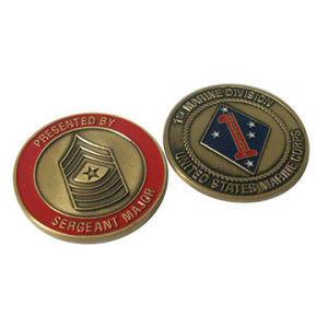 Collection Coin with Zinc Alloy Material