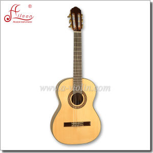 "[Winzz] 36"" Solid Spruce Top Rosewood Classical Guitar pictures & photos"