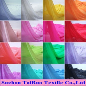 The Cheapest Various 100% Polyester Plain for Dyed Chiffon Fabric pictures & photos
