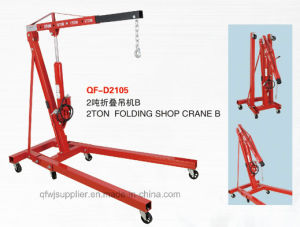 2 Ton Floding Engine Crane with CE Approval pictures & photos