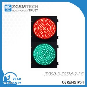 300mm 12 Inch Red Green Vehicleled Signal Traffic