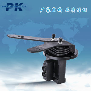 Hydraulic Control Valve Single Joint Riding Double Valve pictures & photos