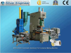 Automatic Aluminum Foil Container Making Machine (SEAC-63AS) pictures & photos