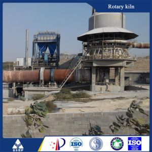 Energy-Saving Lime Calcination Plant Rotary Kiln with 100-600 Tpd Capacity pictures & photos