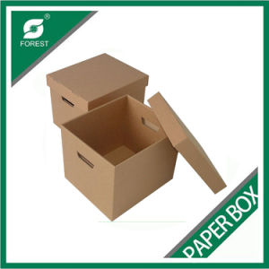 Shanghai Factory Custom Brown Strong Moving Box pictures & photos