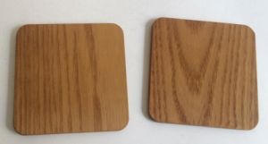 Food Safe Wooden Coaster, Bamboo Coaster pictures & photos