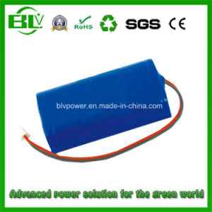 LED Light Battery Rehcgargeable 20W 7.4V Cylindrical Battery Pack 2800mAh pictures & photos