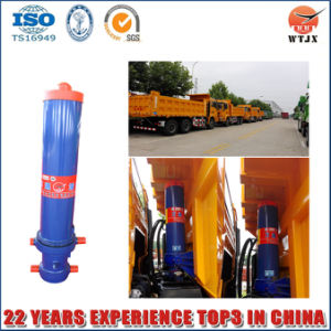 Front Mount Hydraulic Cylinder for Tipping Truck pictures & photos
