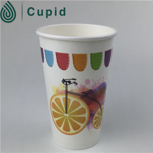 Printed Wall 12oz Single Wall Personalised Paper Cup pictures & photos