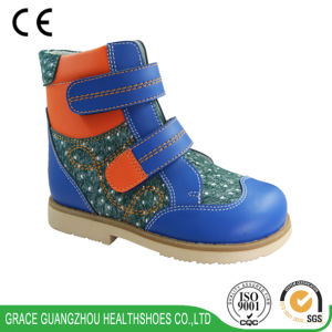 Grace Ortho 2016 New Children Leather Footwear, Children Boot pictures & photos