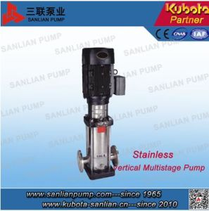 Cdlf Type Vertical Stainless Steel Centrifugal Multistage Inline Pump pictures & photos