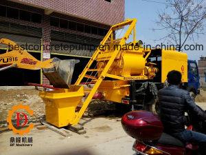 Electric Concrete Mixing Trailer Pump Qjhbt30c-I pictures & photos