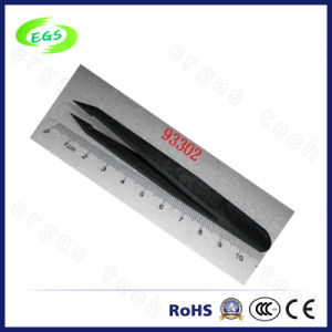 Black Industrial ESD Plastic Tweezers (93002) pictures & photos