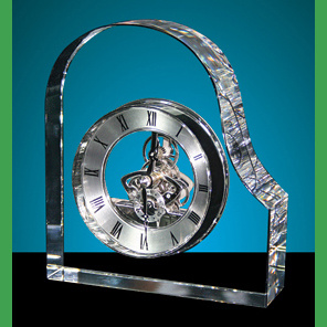 Hear Crystal Desk Clock as Paperweight Gifts pictures & photos