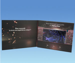 LCD Video Brochure, Video Card, Video Booklet pictures & photos