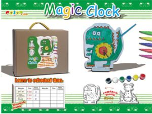DIY Toy Magic Clock Painted Toy (H2112144) pictures & photos