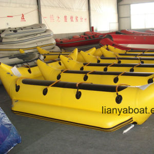 Liya Water Play Banana Boat Inflatable Surfboat for Sale pictures & photos